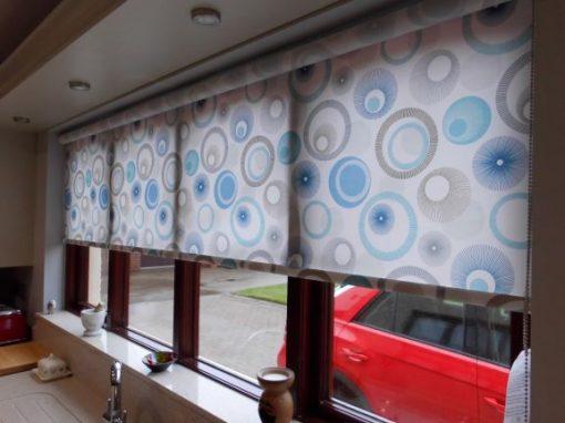 Roller blinds in Broughshane
