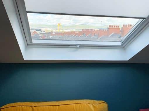 Roller, Roman and Roof Window blinds in Belfast