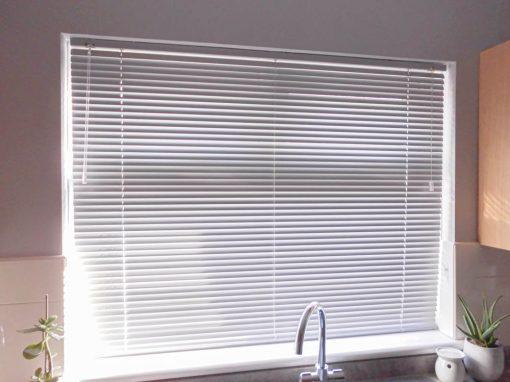 Flint Venetian blinds in Galgorm